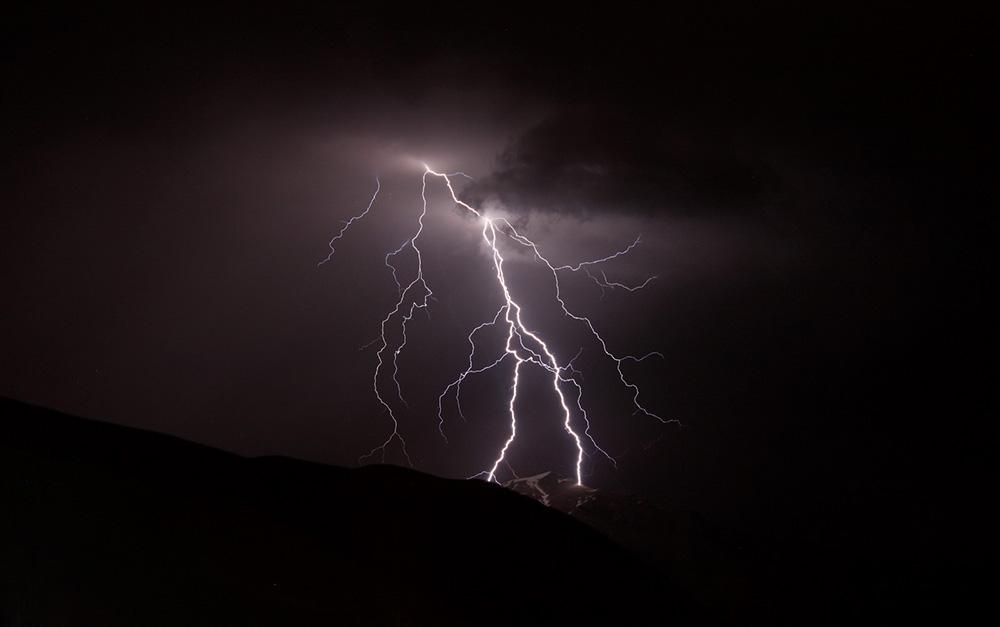 Hullócsillag és villám fotózás